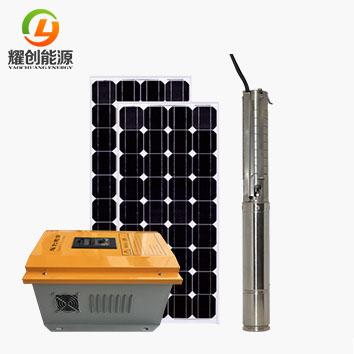 太阳能光伏直流水泵可以自动启停