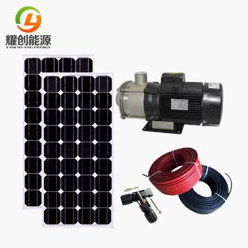 光伏水泵系统实验系统的组成