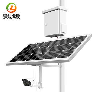 太阳能监控摄像头怎样在水库水利部门中应用?