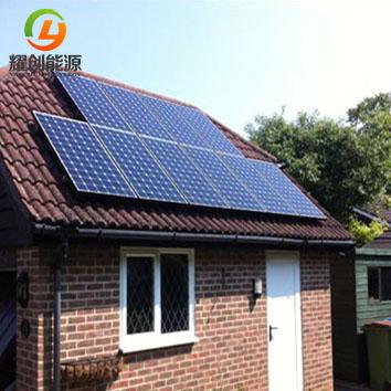 家用太阳能发电系统安装需要考虑的东西